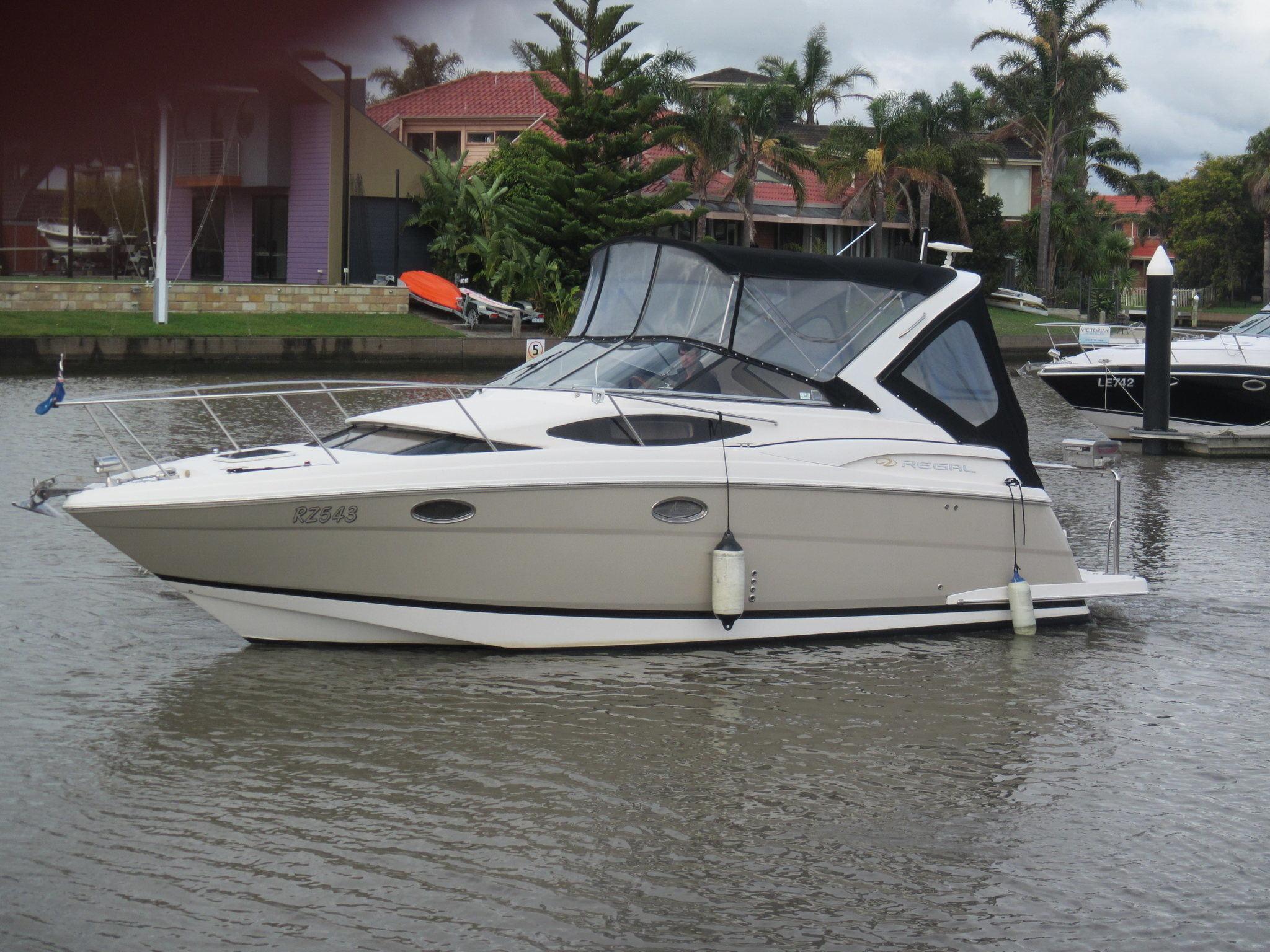 Regal-2860-034 Victorian Boat Sales